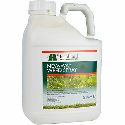 New-Way Weed Spray 5L - Non Glyphosate Containing Weedkiller