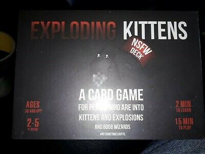 Exploding Kittens: NSFW Edition (Explicit Content -ADULTS ONLY.NEW SEALED.