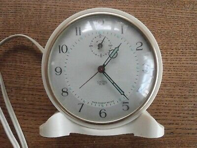 Classic Smiths Sectric Electric Alarm Clock
