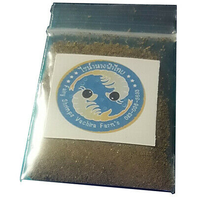 1000000Fairy Shrimp Cysts Easy Hatch Fresh Water Experimental Vibrant Fish Food