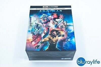 Manta Lab Exclusive #24 Aquaman 4K Blu-Ray Steelbook (One Click) Box Set 007/500