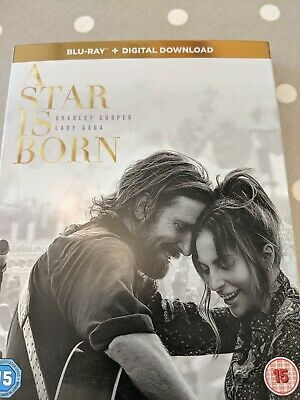 A Star is Born  [2018] (Blu-ray) Bradley Cooper, Lady Gaga,   New