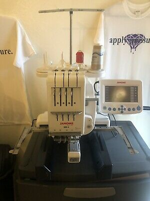 Janome MB-4 Commercial 4 Needle Embroidery Machine