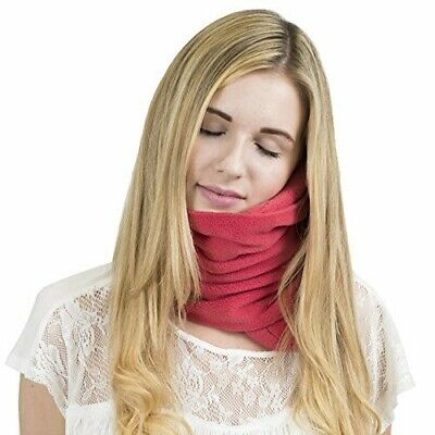 Trtl Pillow - Scientifically Proven Super Soft Neck Support Travel Pillow– Coral