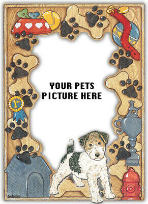 Fox Terrier Wire Picture Frame