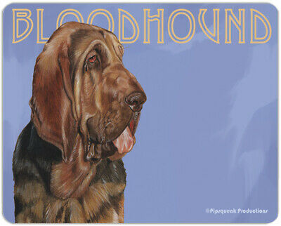 "Bloodhound Cutting Board Tempered Glass 11.5 "" x 15.5"""