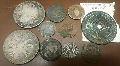 OLD 16-1700s MIXED FOREIGN SILVER COINS COLLECTION LOT****
