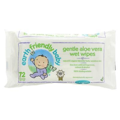 Earth Friendly Baby Eco Baby Wipes pack (Pack of 12)