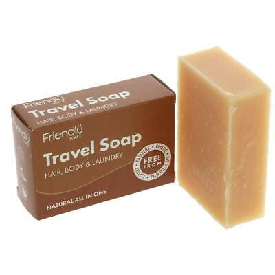 Friendly Soap Natural Travel Soap 95g (Pack of 6)