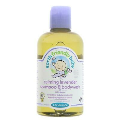 Earth Friendly Baby Organic Lavender Shampoo 250ml (Pack of 6)