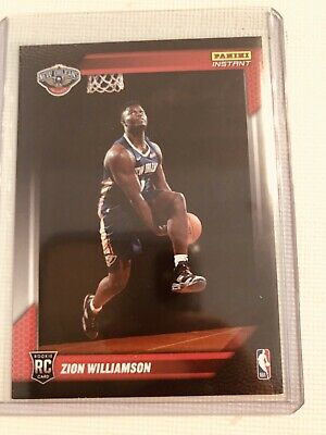 2019 Panini Instant ZION Williamson First Look RC Draft Rookie Photo Shoot Card