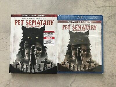 Pet Sematary 2019 (Blu-ray + DVD + Digital, Bilingual)
