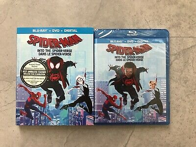 Spider-Man: Into The Spider-Verse (Blu-ray + DVD + Digital, Bilingual)