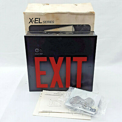 New Old Stock   Lithonia Battery Powered Emergency Exit XS1R X-EL Series