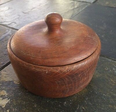 Circa 19th Century Wooden Salt Box  Antique circa 1880's
