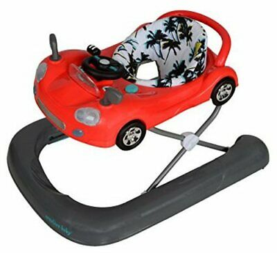 2-in-1 Walker Baby Cruiser Safety Friction Pads Height Adjustable Multi-Color