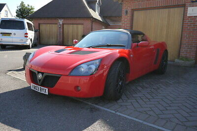 2003 Vauxhall VX220 2.2 Supercharged Stage 2 in Calypso Red 42,600 Miles