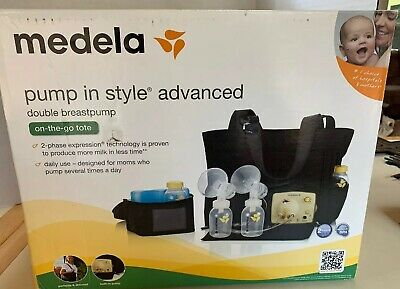 Medela In Style Advanced Double Breast Pump Carry Case nursing pads electric