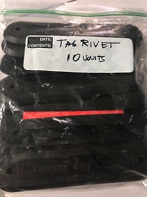 RFID UHF Xtreme RIVET Jr TAG, 860-960MHz Waterproof, 10 UNITS PACK