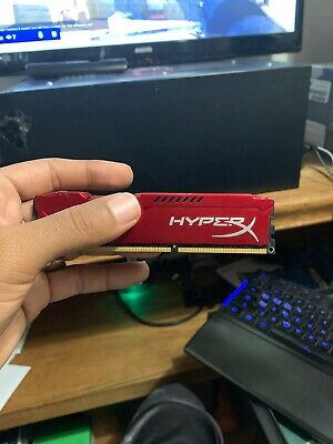 Kingston/Hyperx 4GB (1 x 4GB) DIMM DDR3 1600 (PC3 12800) Memory (HX318C10FR/4)