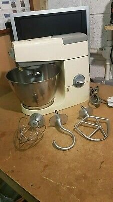 Retro Kenwood Chef A701 Stand Mixer with Stainless Bowl + Complete Attachments