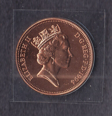 1994 2p Two Pence Coin Brilliant Uncirculated - From Royal Mint Set
