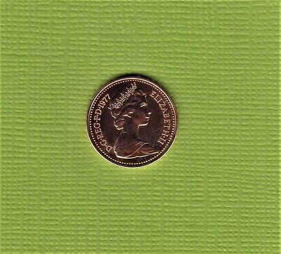 1977 1/2p Half Pence Proof Coin - From Royal Mint Set (Free Post)