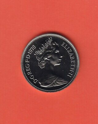 1976 10p Ten Pence Coin Proof - From Royal Mint Set (TP76)