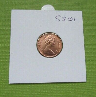 1971 1/2p Half Pence Proof Coin - From Royal Mint Set (Free Post)