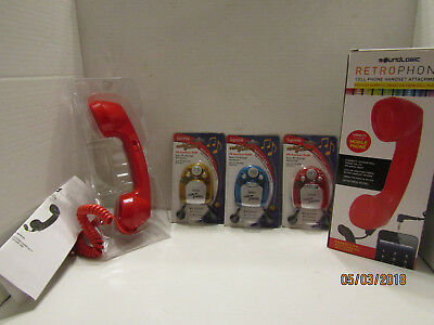 Junk Drawer Lot Of 3 Suprema Fm Auto Scan Radio With Built-In Pen Light & Ear Ph