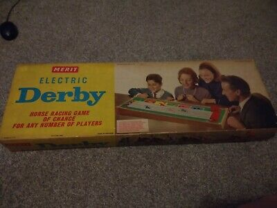 Merit Electric Derby Horse Racing Game By J&L Randall Ltd 1964. ( UNTESTED )