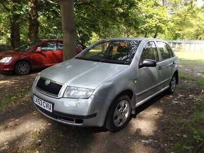 2003/53 Skoda Fabia 1.2 Hatchback Drives Ok Mot'd 10/19 Bodywork Needs Tidying