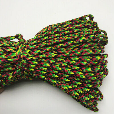 550 Paracord Parachute Cord Lanyard Mil Spec Type III 7 Strand Core 25FT HOT43