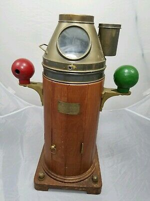 Henry Browne & Son Sestral Type A Ship Yacht Binnacle Compass Barking Essex RARE