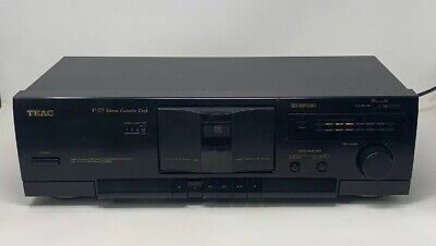 TEAC Stereo Cassette Deck - V-377 - Tested Working