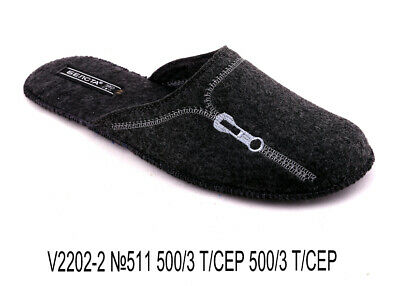 8f2b79905bfe5 MEN'S INDOOR SLIPPERS Sheep Wool (Felt) Warm & Cozy Made in Russia ...