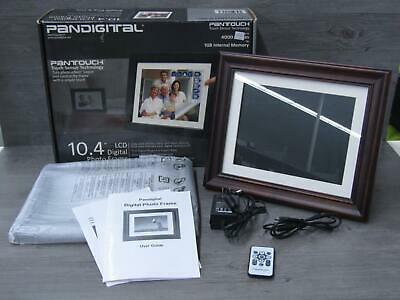 "Pandigital 10.4"" 1GB Digital Photo Frame PAN1056W02T w/ Touch Sensor In Box"