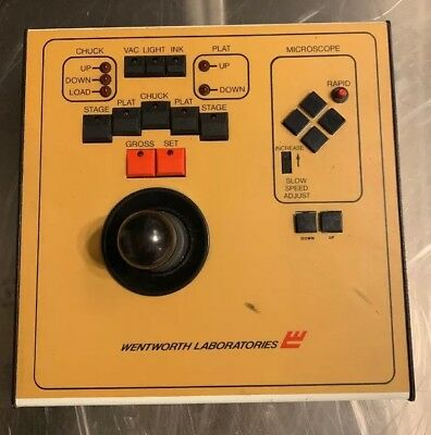 Wentworth Labs Mp 2020 3 Axis Xyz Micromanipulator Probe Controller / Joystick