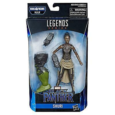 Marvel Legends Series Black Panther Shuri 6-Inch Figure Hulk BAF
