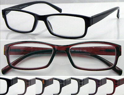 R364 Superb Quality Reading Glasses/Spring Hinges/Classic Style & Fashion Design