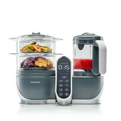 Duo Meal Station Food Maker | 6 in 1 Food Processor with Steam Cooker, Blender,