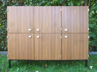 RARE ! Enfilade haute Pierre GUARICHE by MEUROP '60s VINTAGE Highboard Cabinet