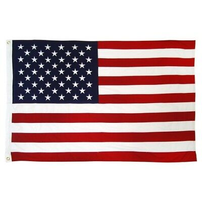 3x5 Ft American Flag w/ Grommets - United States Flag - US USA Flags America