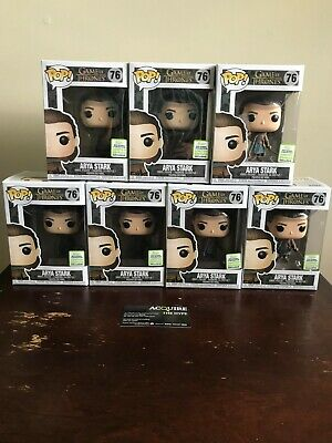 Funko Pop! Game of Thrones Arya Stark 2019 ECCC Shared Sticker *IN HAND*
