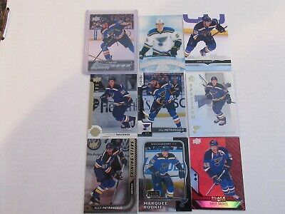 2019 Stanley Cup Champions. St. Louis Blues Hockey Card Lot..