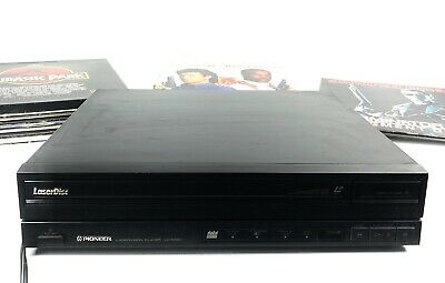 Vintage Pioneer LD-838D Laservision Laser Disc Player W/ 20+ Laserdisk Included
