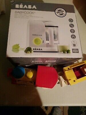 Beaba BabyCook Solo Electric Organic Natural Homemade Baby Food Maker Processor