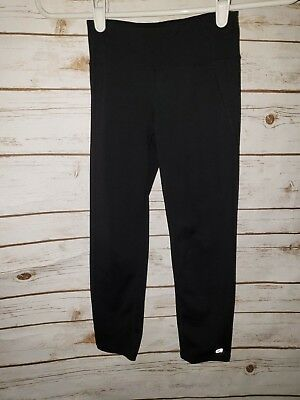 Gap Fit Girls S 4 black leggings pants stretchy athletic fitted