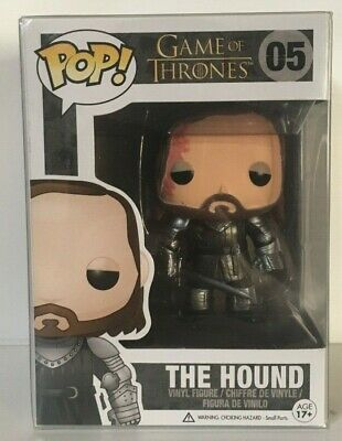 Funko Pop! Game of Thrones THE HOUND #05 Vinyl Figure Vaulted
