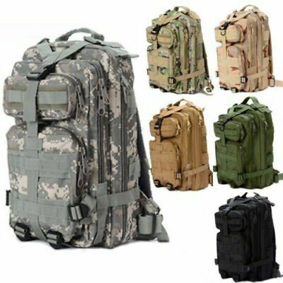 New 30L Sport Outdoor Military Rucksacks Tactical Molle Backpack Camping Hiking